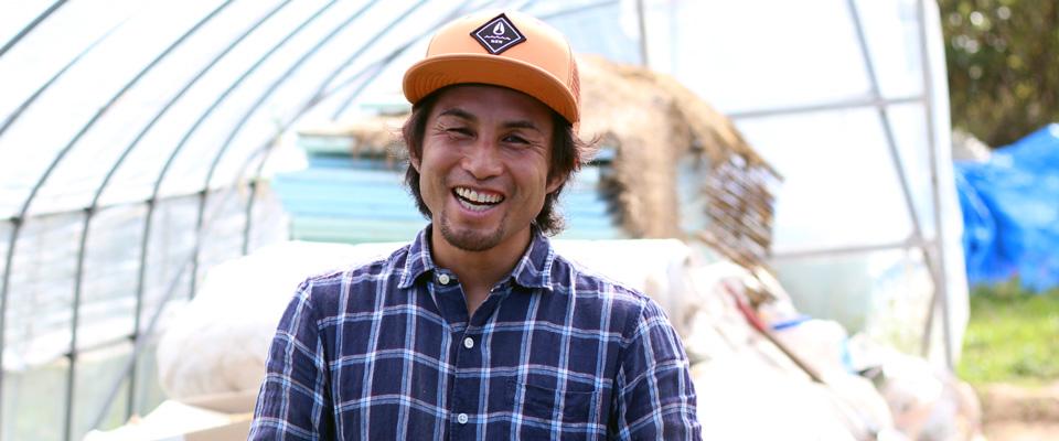 Lalala Farmの服部吉弘(はっとりよしひろ)