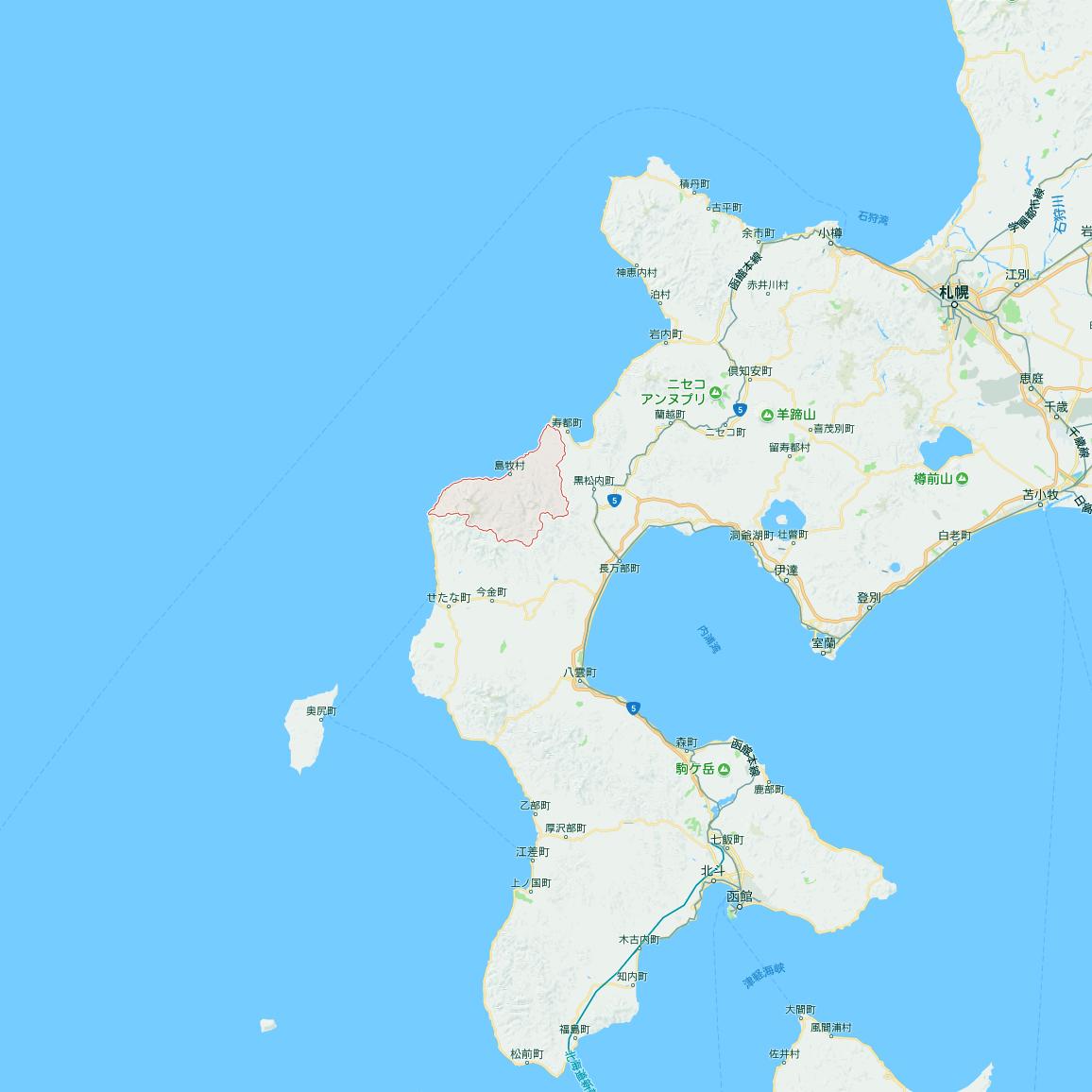 北海道島牧村