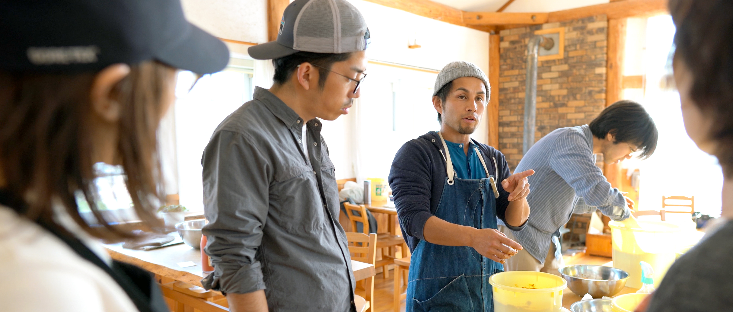 左:平岡譲|右:服部吉弘